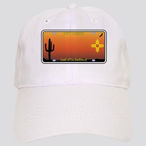 New Mexico License Plate Cap