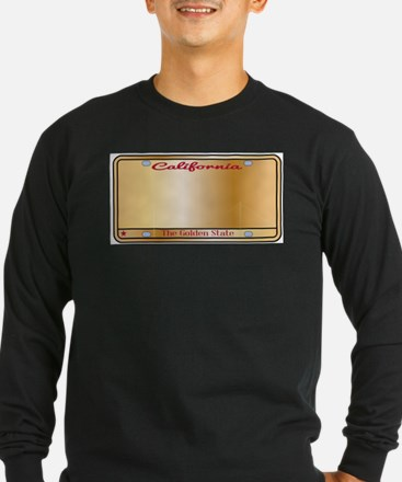California License Plate Long Sleeve T-Shirt