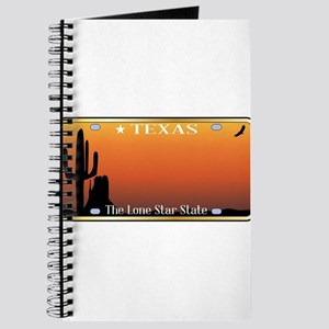 Texas License Plate Journal