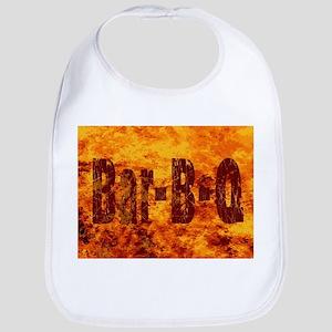 Bar BQ Flames Bib