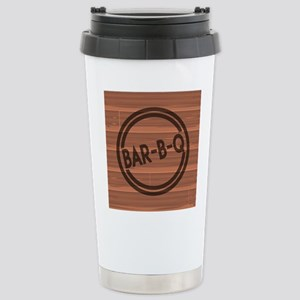 Bar BQ Stainless Steel Travel Mug
