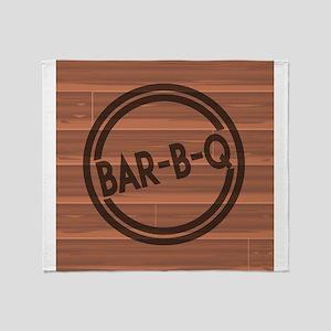 Bar BQ Throw Blanket