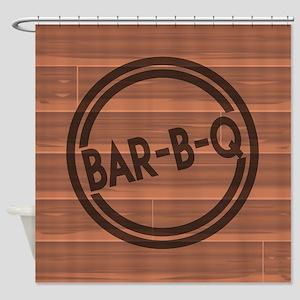 Bar BQ Shower Curtain