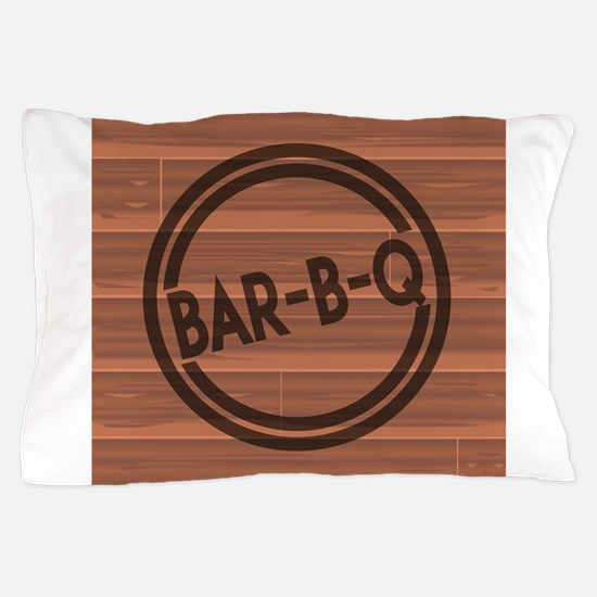 Bar BQ Pillow Case