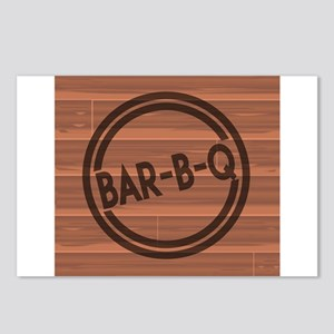 Bar BQ Postcards (Package of 8)