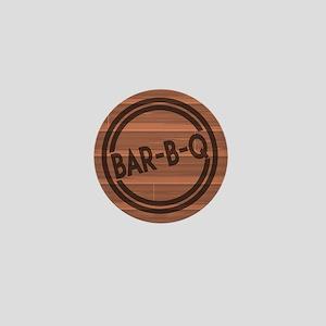 Bar BQ Mini Button