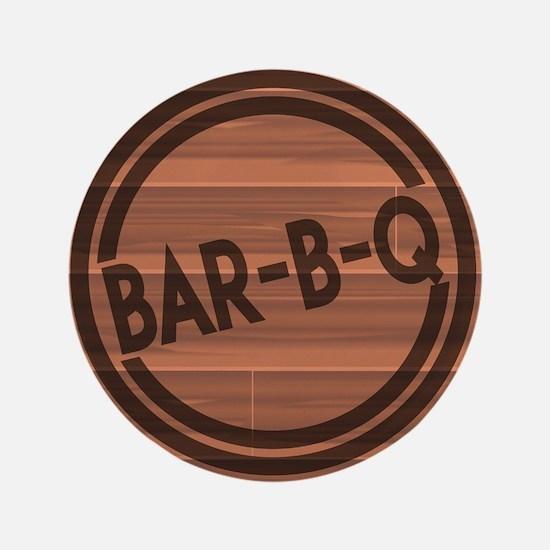 """Bar BQ 3.5"""" Button (100 pack)"""