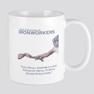 The Creation of Ironworkers Mug