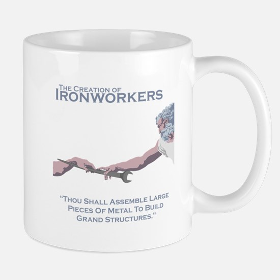 The Creation of Ironworkers Mug