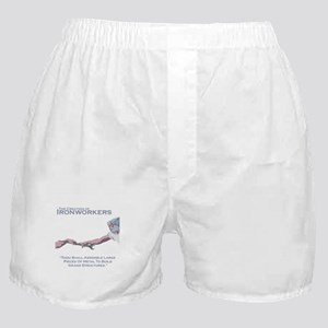 The Creation of Ironworkers Boxer Shorts