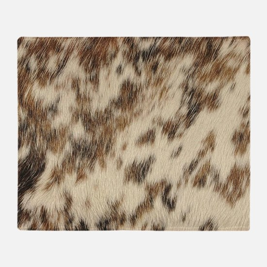Funny Animal print Throw Blanket