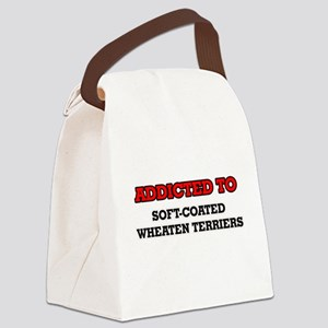 Addicted to Soft-Coated Wheaten T Canvas Lunch Bag