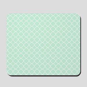 Mint Boho Design Mousepad