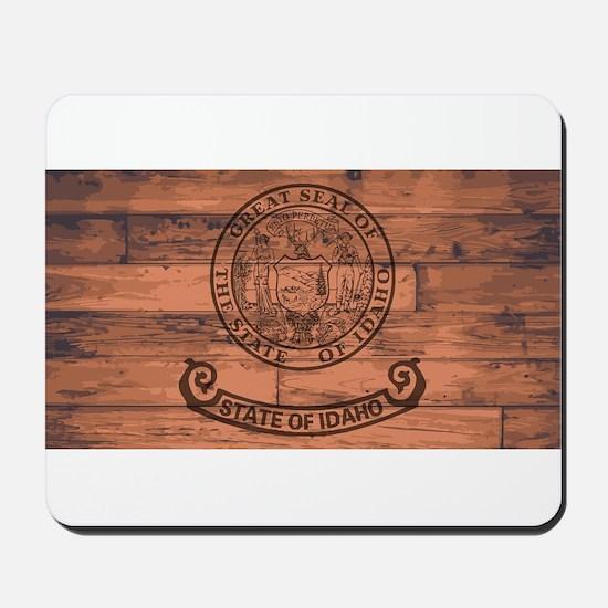 Idaho State Flag Brand Mousepad