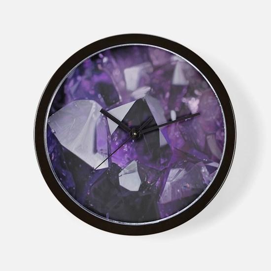 Cute Gemstones Wall Clock