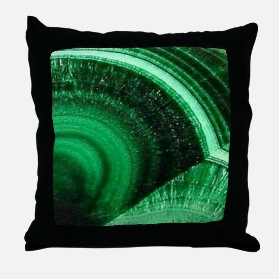Cute Dark green Throw Pillow