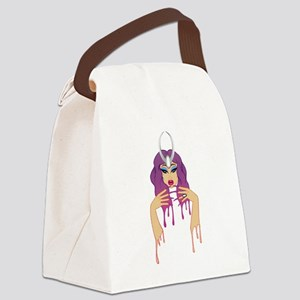 Triple Threat Queen Canvas Lunch Bag