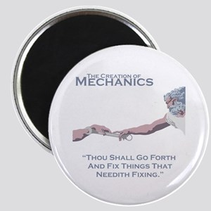 The Creation of Mechanics Magnet