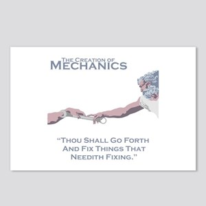 The Creation of Mechanics Postcards (Package of 8)