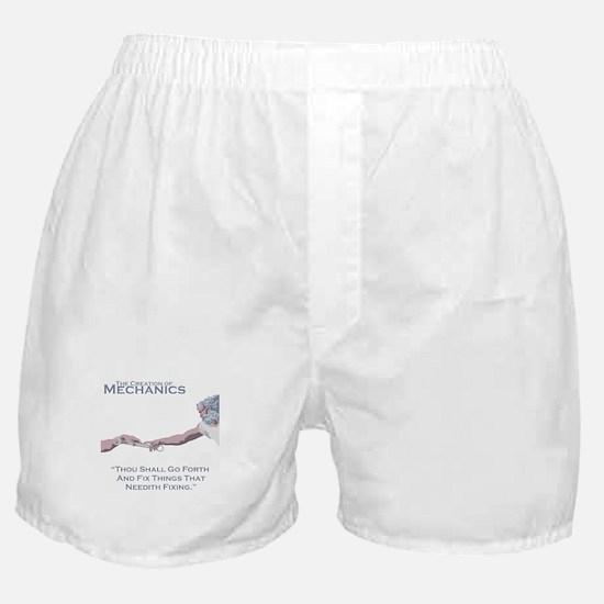 The Creation of Mechanics Boxer Shorts
