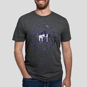 Halter Texas Star Mens Tri-blend T-Shirt