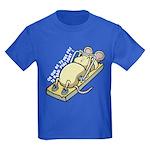 Ce qui ne te tue pas... Kids Dark T-Shirt