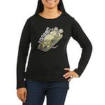 Ce qui ne te tue Women's Long Sleeve Dark T-Shirt
