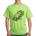 Ce qui ne te tue pas... Green T-Shirt