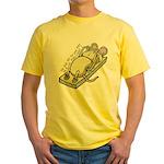 Ce qui ne te tue pas... Yellow T-Shirt