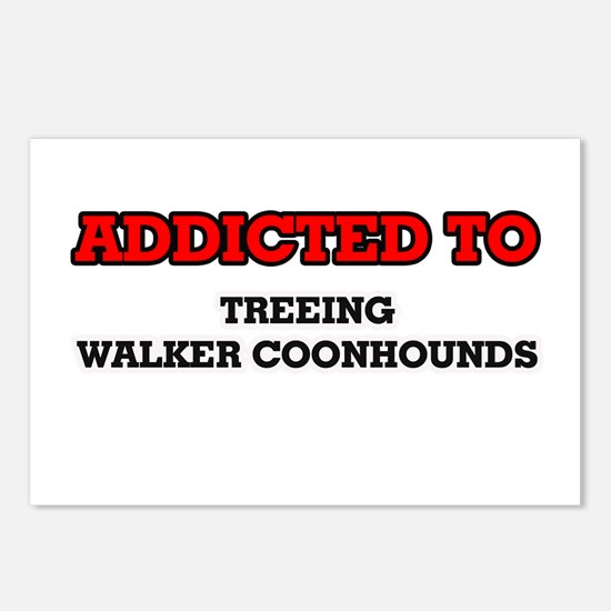 Addicted to Treeing Walke Postcards (Package of 8)