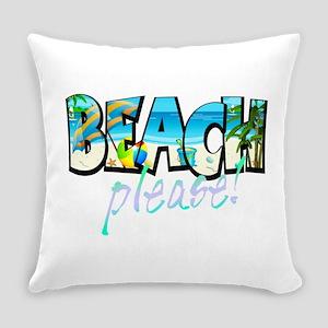 Kids Beach Please! Everyday Pillow
