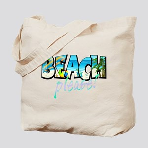 Kids Beach Please! Tote Bag