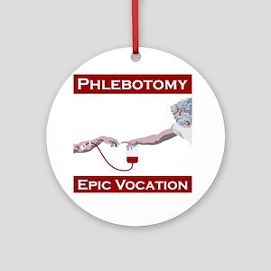 Phlebotomy, Epic Vocation Round Ornament
