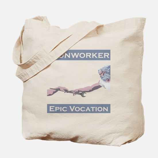Ironworker, Epic Vocation Tote Bag