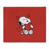 Valentines day Fleece Blankets