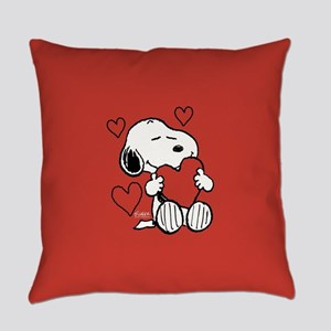 Peanuts: Snoopy Heart Everyday Pillow