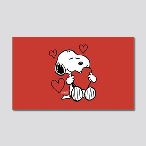Peanuts: Snoopy Heart Car Magnet 20 x 12
