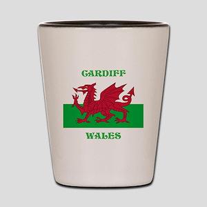 Cardiff Wales Shot Glass