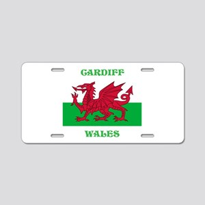 Cardiff Wales Aluminum License Plate