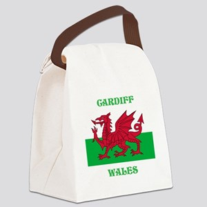 Cardiff Wales Canvas Lunch Bag