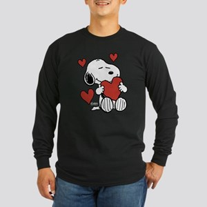 Peanuts: Snoopy Heart Long Sleeve T-Shirt