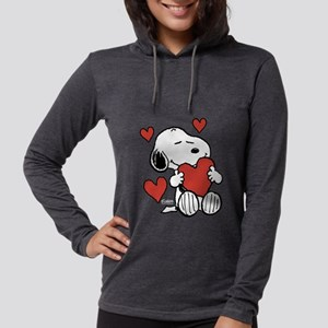 Peanuts: Snoopy Heart Long Sleeve T-Shirt
