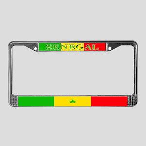 Senegal Blank Flag License Plate Frame