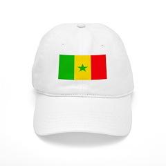 Senegal Blank Flag Baseball Cap