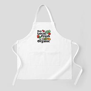 Buy Local Fresh & Organic BBQ Apron