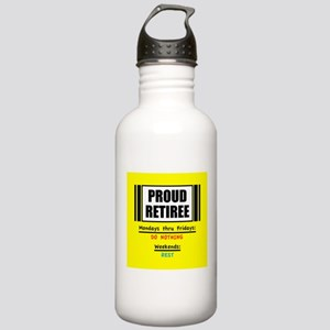 Proud Retiree Water Bottle
