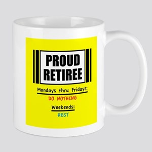Proud Retiree Mugs