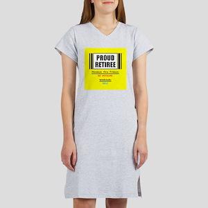 Proud Retiree Women's Nightshirt