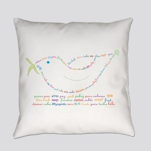 Peace Dove Everyday Pillow