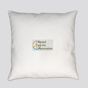 Blessed are the Peacemakers Everyday Pillow